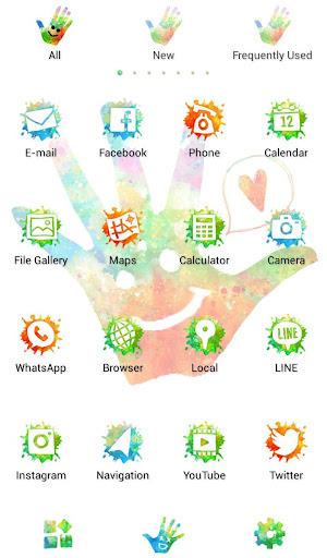 Holi Theme Colorful Hand 1.0.0 Windows u7528 3