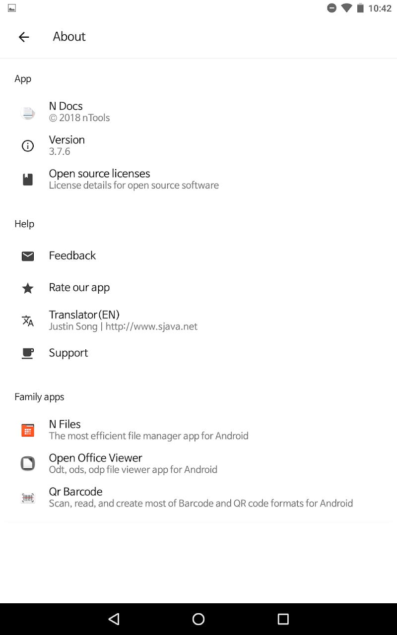 N Docs - Office, Pdf, Text, Markup, Ebook Reader Screenshot 19