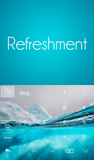 TouchPal Refreshment Keyboard
