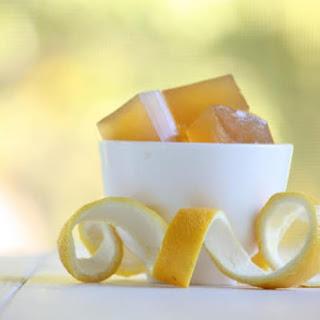 Probiotic Infused Lemon Jello.
