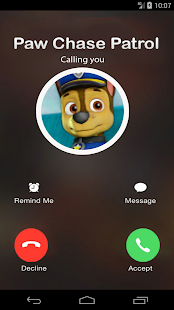 Call From Paw Chase Patrol - New Version - náhled