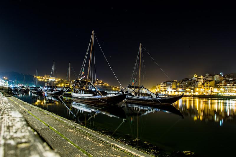 Le barche di Porto (Portogallo) di Crispin Santos Demasceno 2018