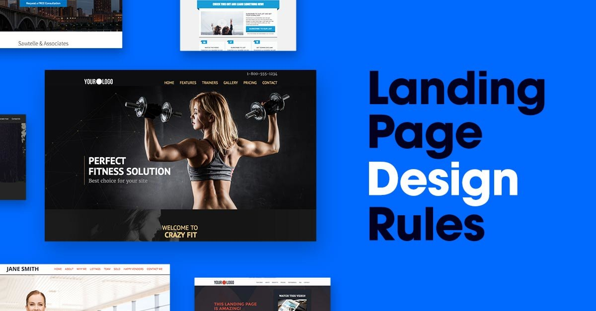 The 6 Big Rules of Landing Page Design