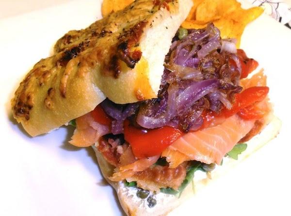 Salmon's Date With Pancetta Recipe