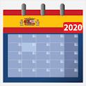 Calendario 2020 españa con festivos gratis icon