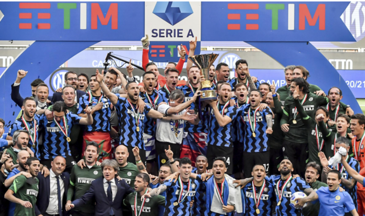 Inter Milan win Serie A 2020/2021 title and end Juventus' nine-year reign as Italian champions