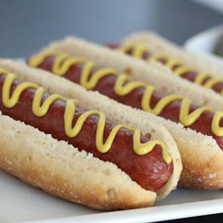 Gluten Free & Vegan Hotdog Bun.