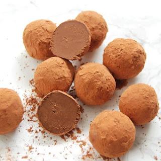 Chocolate Avocado Truffles.