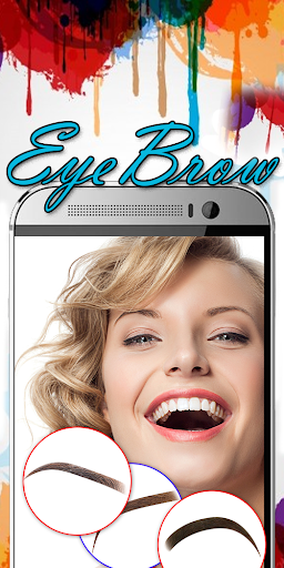Eyebrow Shaping App - Beauty Makeup Photo  screenshots 8