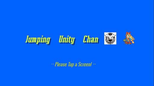 Jumping Unity Chan