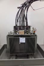 Photo: Transformateur 20000V / 400V #datacenter #reims (Visite de chantier 11.12.2014)