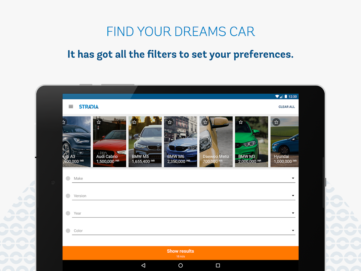 Stradia : Dream. Buy. Drive- screenshot