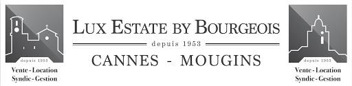 Logo de LUX ESTATE BY BOURGEOIS MOUGINS