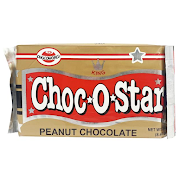 King's Choc-O-Star Peanut Milk Chocolate