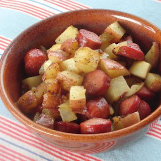 Hot Dogs And Potatoes Recipes