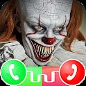 Clown Call Me ! Creepy Fake Video Call icon