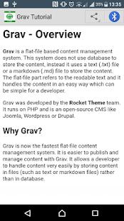 Guide to Grav - náhled