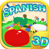 Learn Spanish For Kids 3D Free