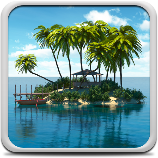 Paradise Island Live Wallpaper Icon