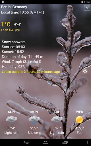 Sense Flip Clock & Weather Pro  screenshots 15