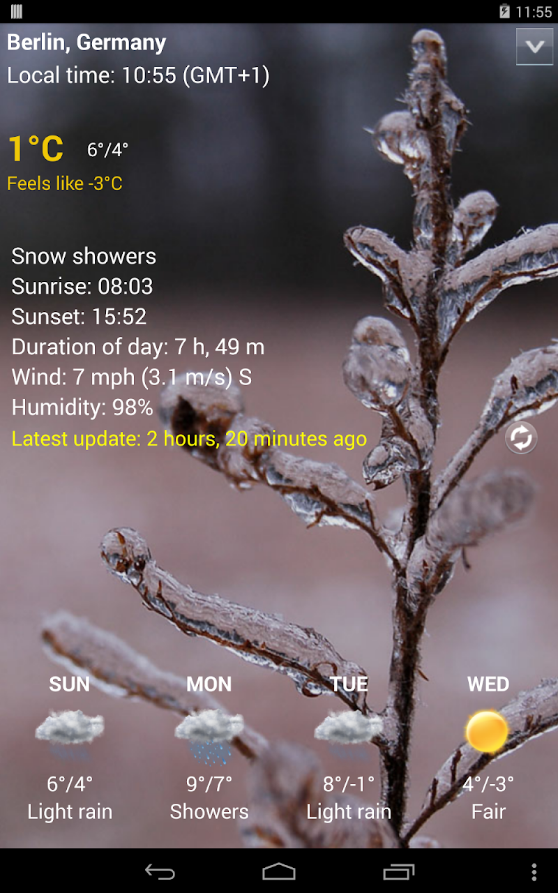 Sense Flip Clock & Weather Pro Screenshot 14