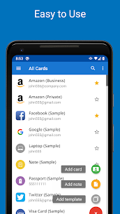 Password Manager SafeInCloud Pro v20.5.4 MOD APK (UNLOCKED) 3