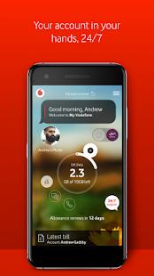 My Vodafone - náhled