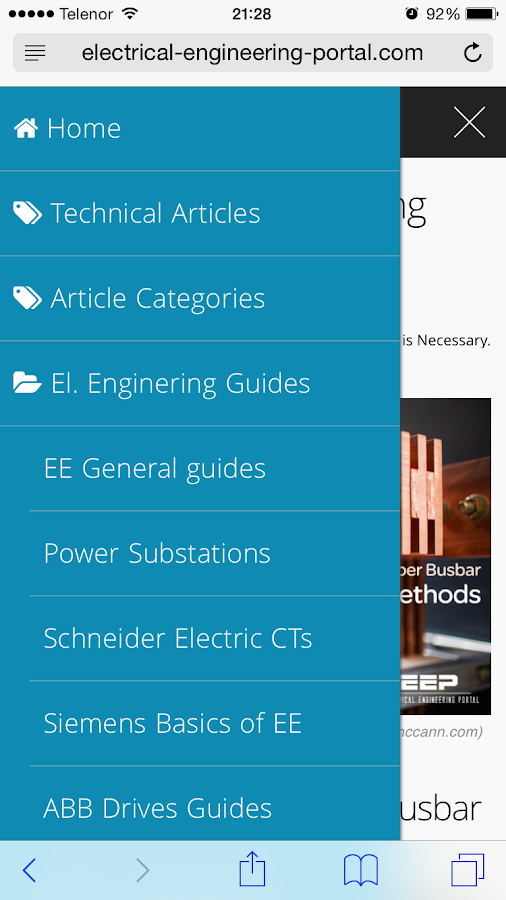EEP - Electrical Engineering- screenshot