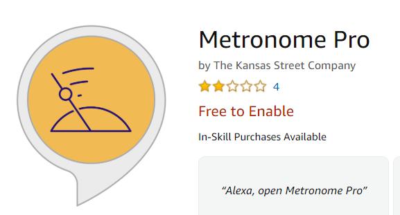 Alexa Skill Icon with In-Skill Purchasing
