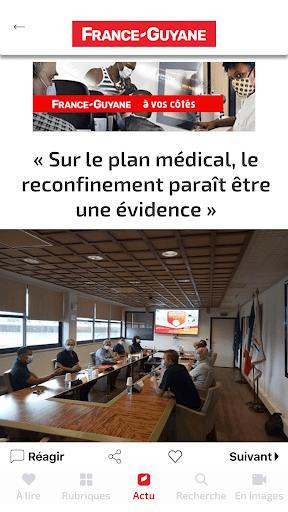 Capturas de pantalla de France-Guyane Actu 2