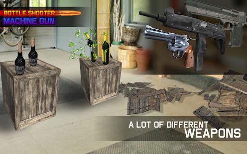 Bottle Shooter Machine Gun - náhled