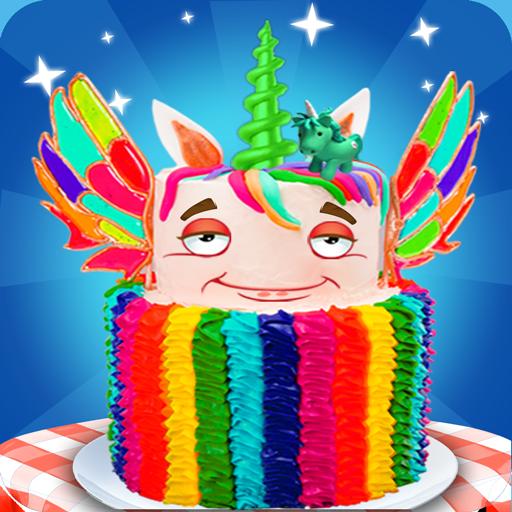 Unicorn Rainbow Cake Desserts (game)
