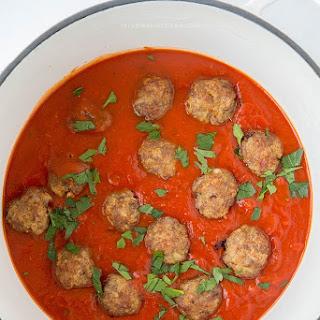 Italian Sausage Meatballs.