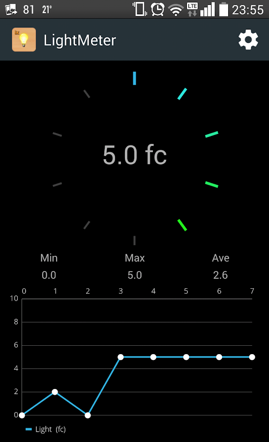 Lux Meter (Light Meter)- screenshot
