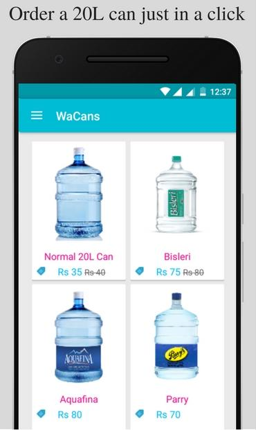 Wa Cans - Online Water Cans- screenshot