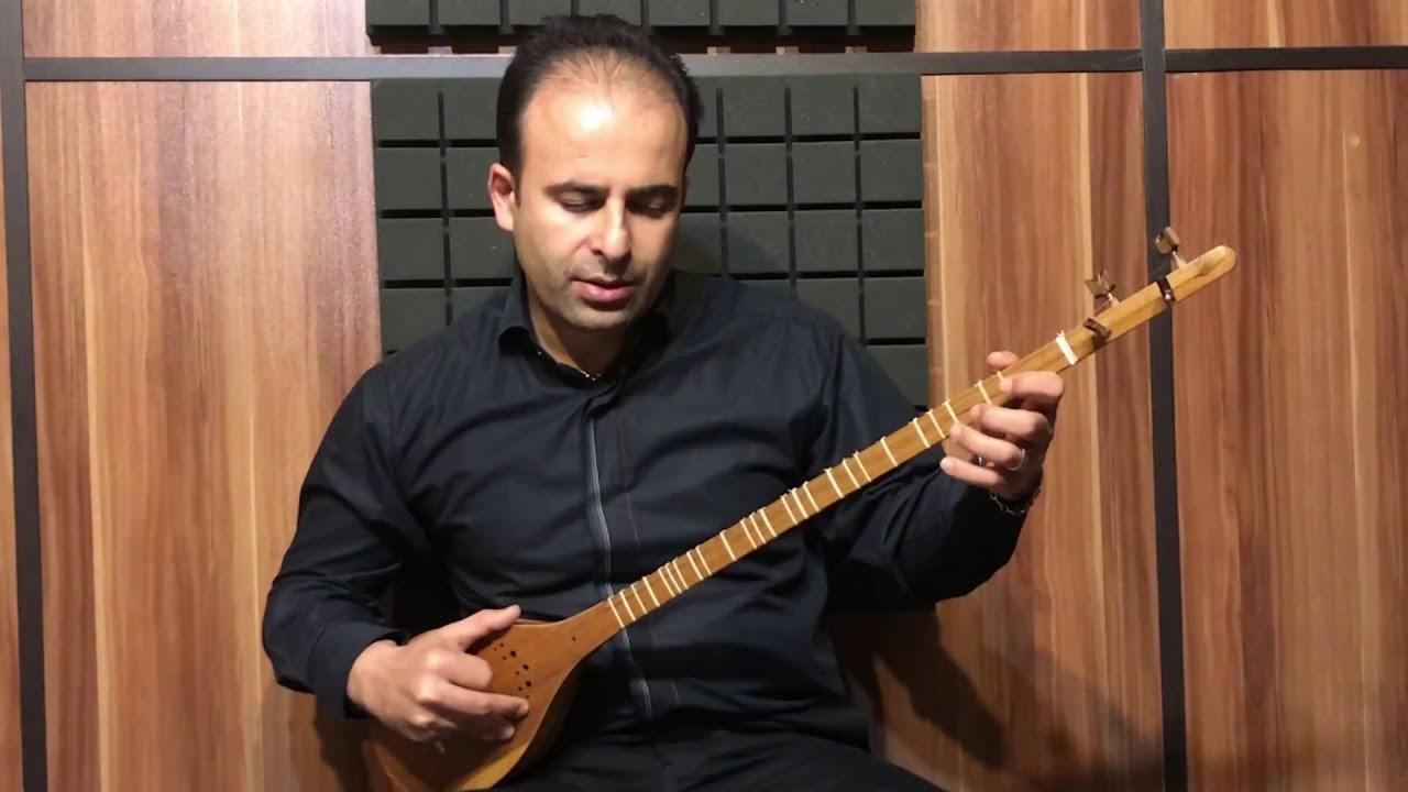 فیلم آموزش درس ۸ ربابه جان آهنگ محلی مازندران تار و ترانه نیما فریدونی سهتار
