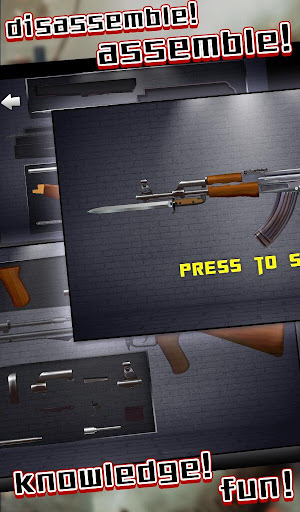 战争之王:AK47-全民突击步枪拆卸组装与射击打靶