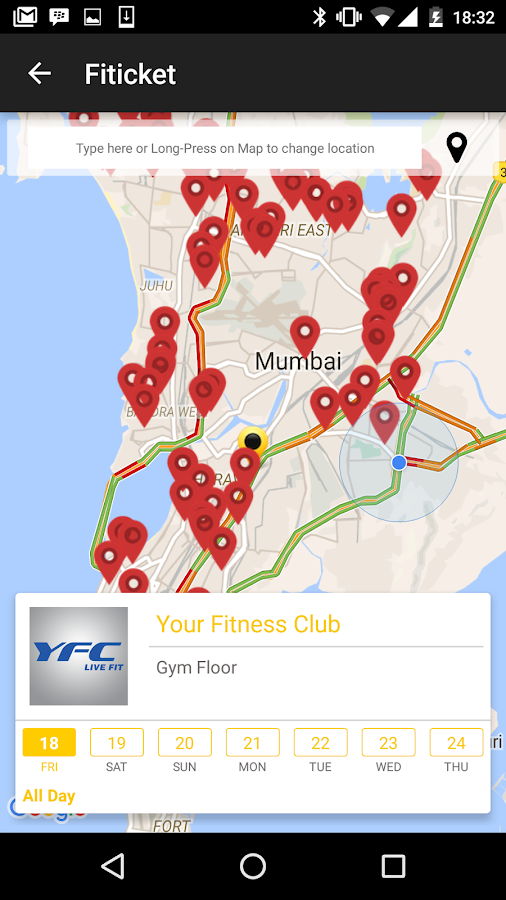 FITICKET - Fitness App India- screenshot
