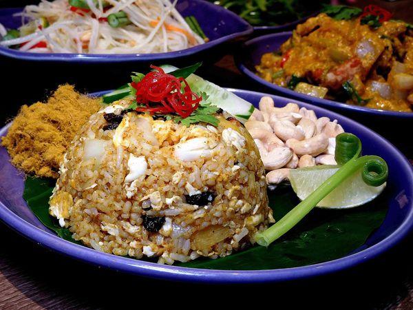 無敵好吃泰國料理,炒飯與黃咖哩軟殼蟹太好吃, NARA Thai Cuisine