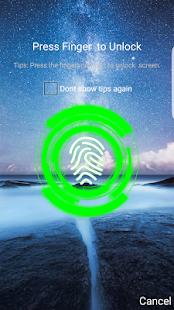 Lock - Fingerprint Lock Screen - náhled