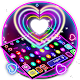 Download Colorful Sparkle Neon Heart Keyboard For PC Windows and Mac