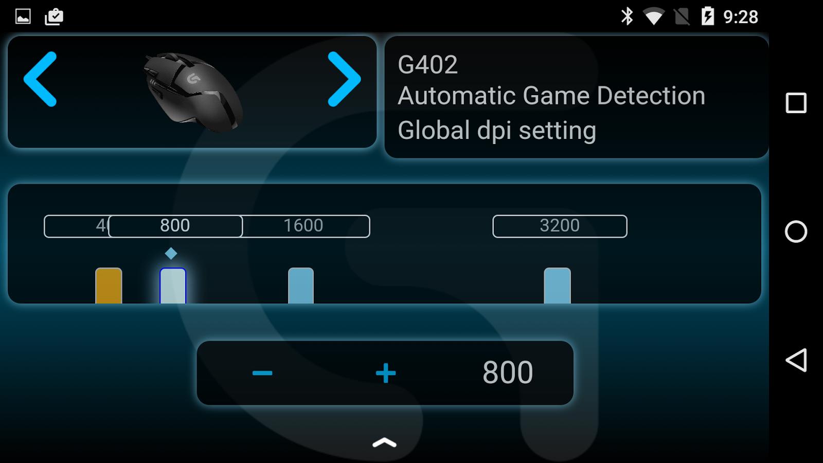 Screenshots of Logitech Arx Control for iPhone