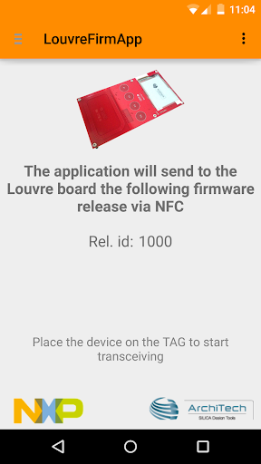 Louvre Firmware Update