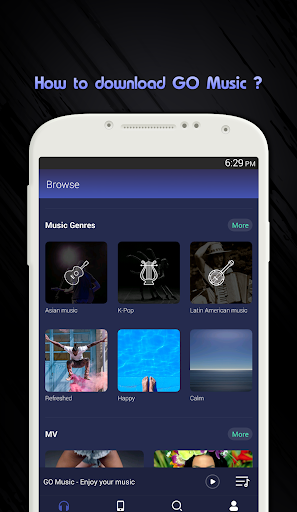 Guide Go Music Free Equalizer Themes Player MP3 1.3 screenshots 1