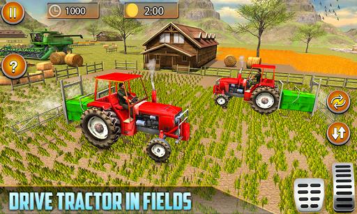 American Real Tractor Organic Farming Simulator 3D apktram screenshots 4