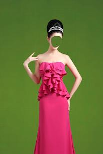Woman Wedding Photo Suit - náhled