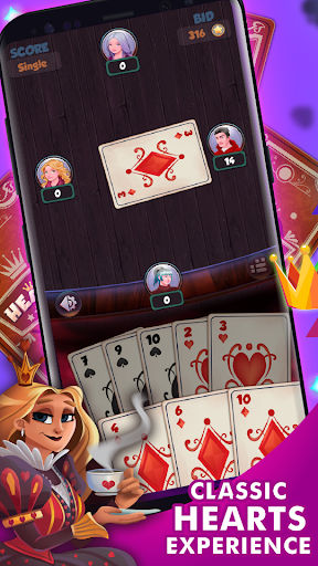 Hearts - Free Card Games 2.5.2 screenshots 1