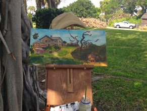 Photo: Painting by Diane Hagg