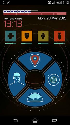 Zooper Evolve Theme - Hunter