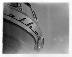 Photo: art deco steam locomotive. holga-roid shot